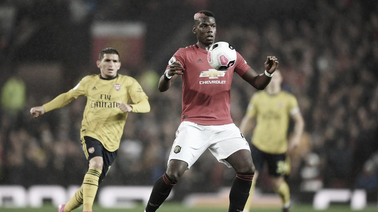 Manchester United y Arsenal empatan en un intenso partido