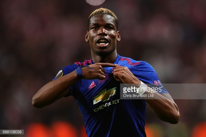 Pogba laughs off transfer fee and criticism after first season at Man United