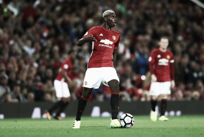 "Schmeichel delighted with ""great statement"" signing Paul Pogba"