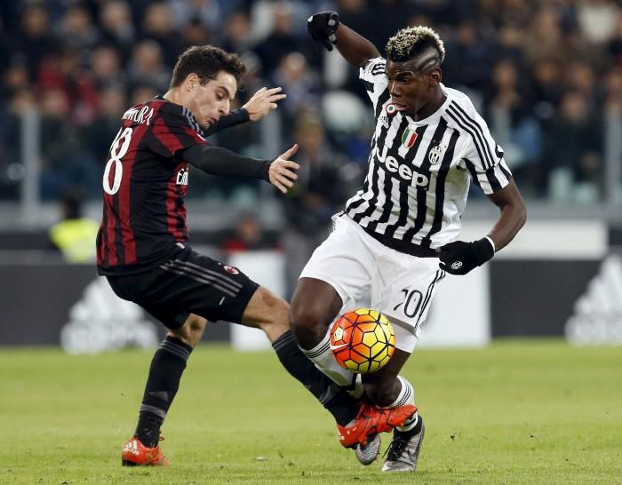 Le 5 sfide TOP di Milan-Juve, gli show-stealers: Pogba e Bonaventura per fare spettacolo