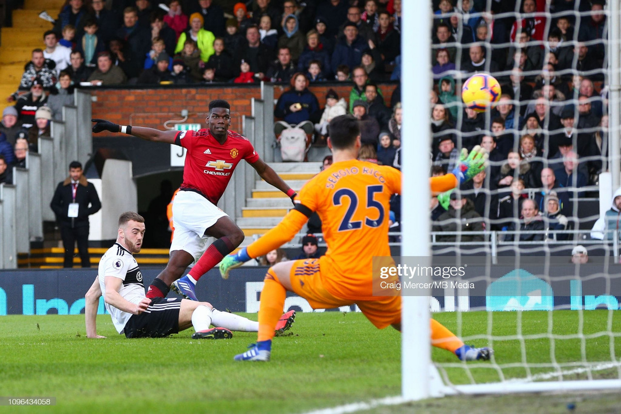 Manchester United back to the top with stunning Pogba strike