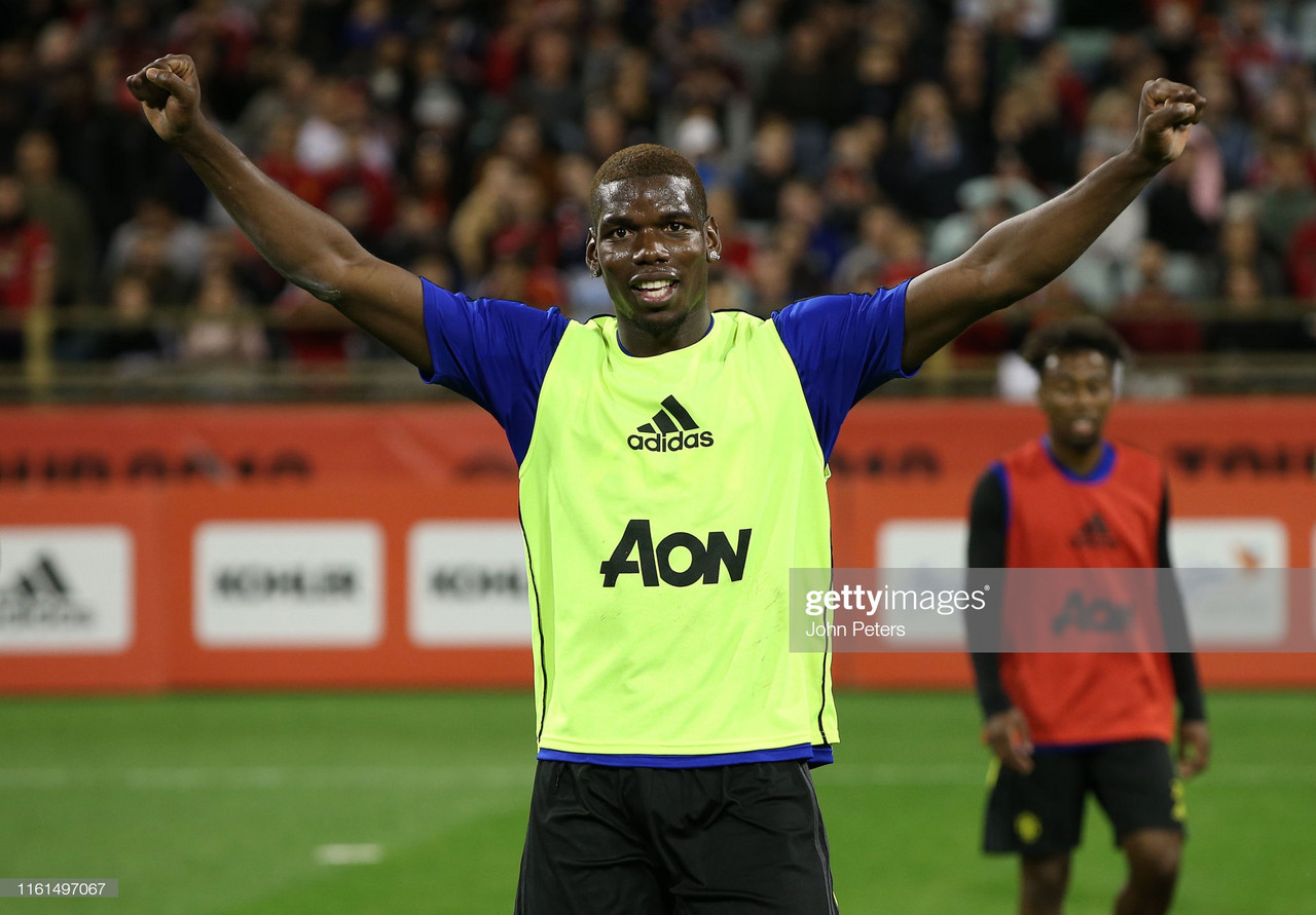 Manchester United vs Perth Glory Live Stream and Score Updates (2-0)