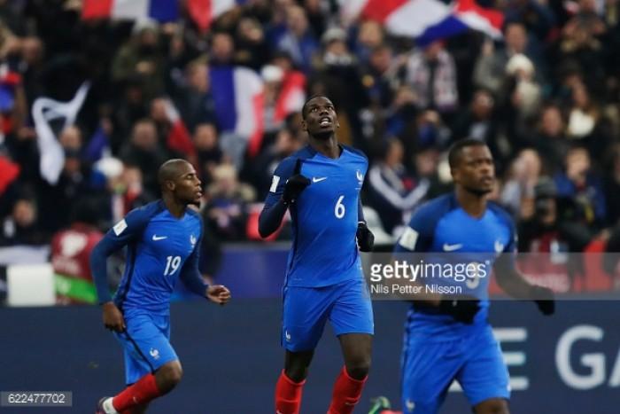 France 2-1 Sweden: Impressive comeback sends Les Blues top of the pile