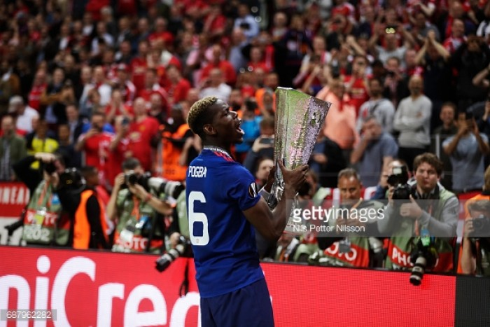 "Winning three trophies is ""all that matters"" for Man Utd, insists Pogba"