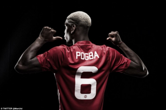 """Pogba happy to be """"back home"""" after world-record return to Manchester United"""