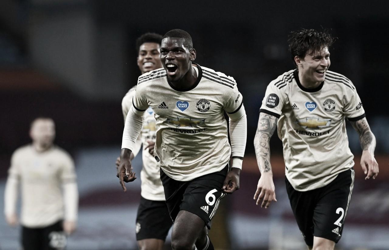 """Pogba comemora nova vitória convincente do Manchester United: """"Queremos manter o nível alto"""""""