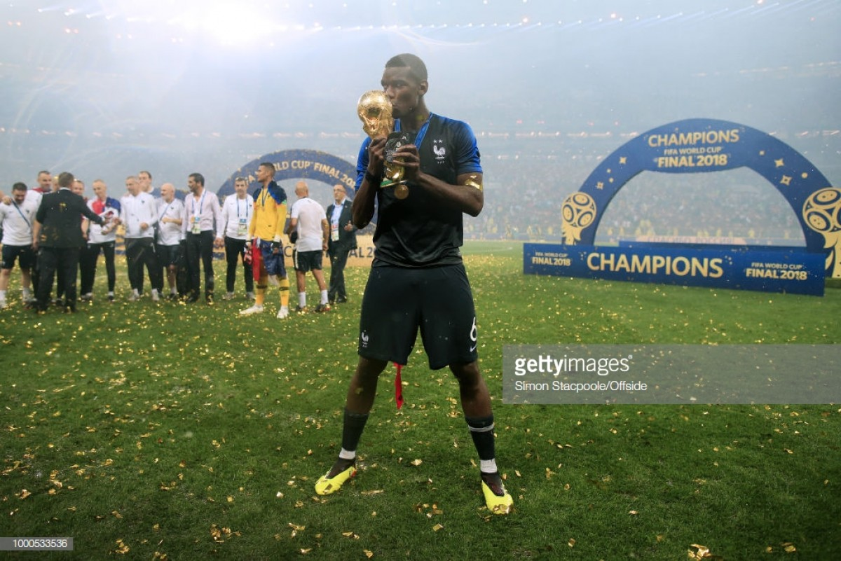 """Mourinho comments on Pogba's """"brilliant"""" World Cup performances"""