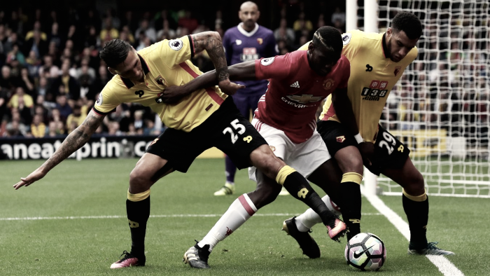 Resumen del Watford 2-4 Manchester United en Premier League 2017