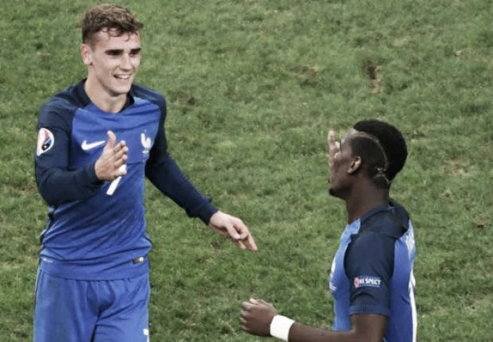 Antoine Griezmann enthuses about Pogba's move to Manchester United