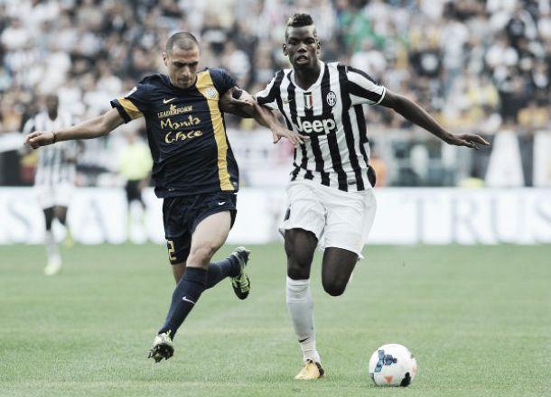 Diretta Juventus - Hellas Verona in Coppa Italia