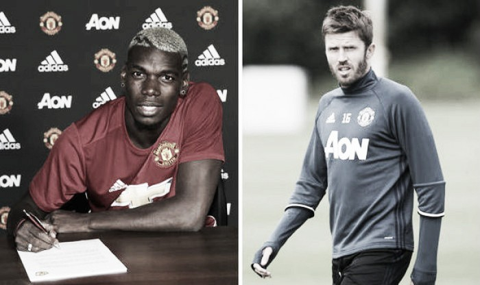 Jose Mourino hints at Carrick-Pogba midfield partnership