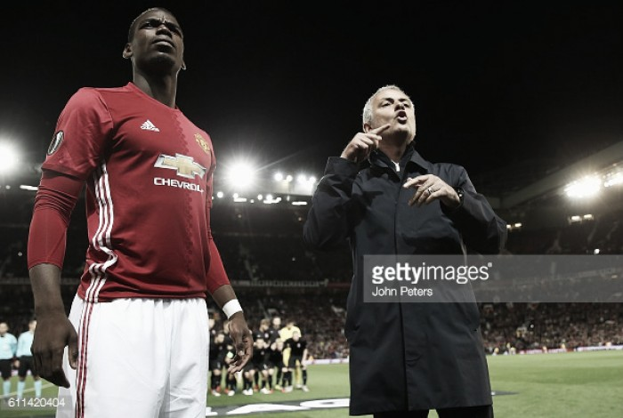 Pogba is still adapting to the Premier League, insists Mourinho