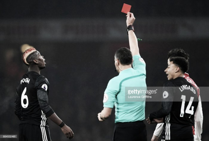 Opinion: If Paul Pogba should have seen red, then football is going non-contact