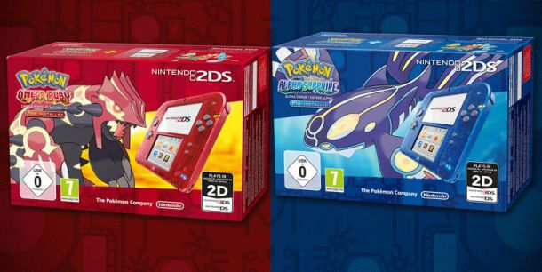 Pokemon Omega Ruby and Alpha Sapphire get unique 2DS console bundles