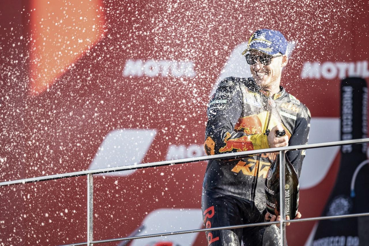 """Pol Espargaró: """"Cinco podios en nueve carreras suena increíble"""""""