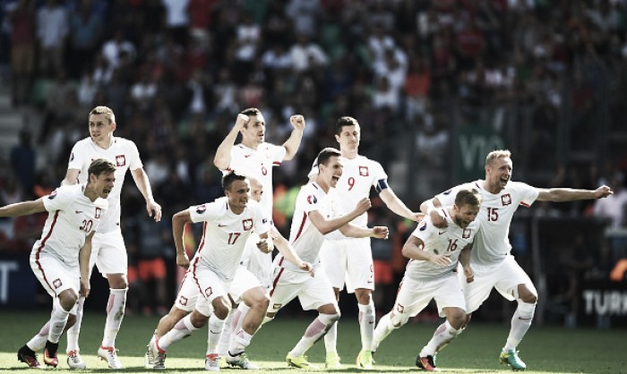 Switzerland 1-1 Poland (AET, 4-5 on pens): Flawless spot-kicks send Poles to quarter-finals
