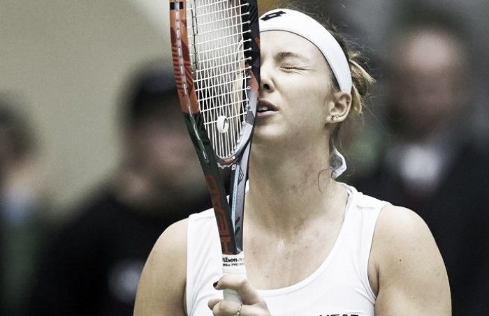Fed Cup: Short-handed Poland fight to stay even with Chinese Taipei