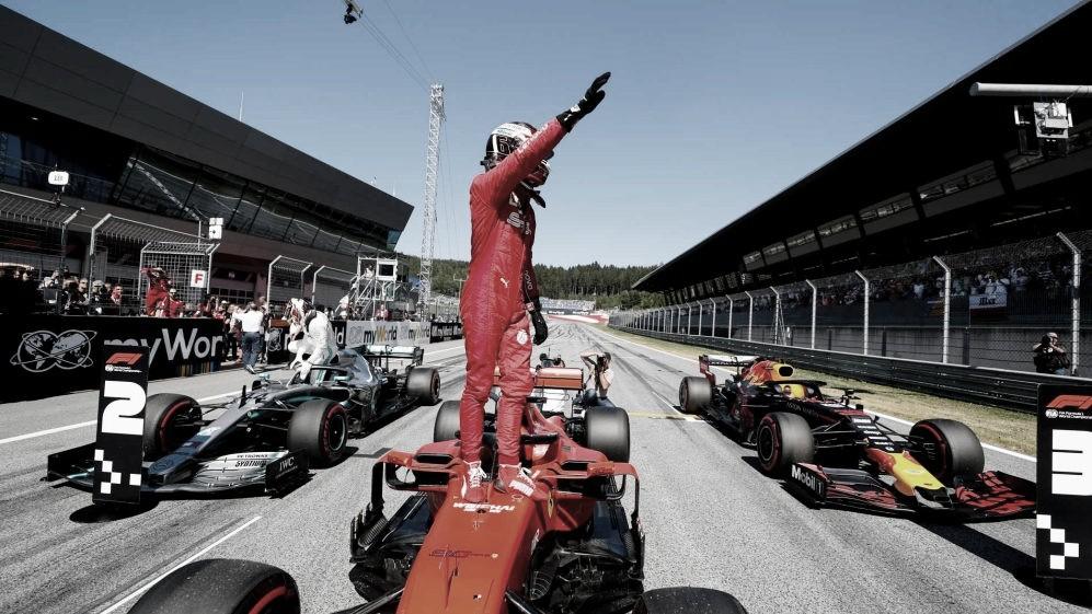 Charles Leclerc surpreende e conquista pole para GP da Áustria