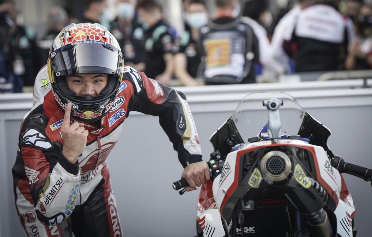 Takaaki Nakagami consigue la pole position en el GP de Teruel / Foto: motogp.com
