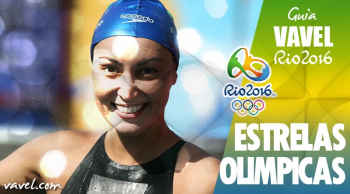 Conheça Poliana Okimoto, atleta brasileira da maratona aquática no Rio 2016