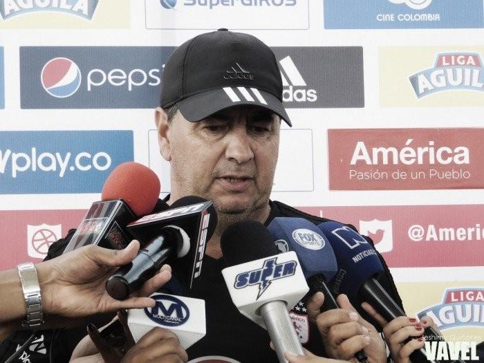 """Jorge Da Silva: """"Me deja tranquilo la generación de juego, porque el equipo le generó muchas situaciones a Tolima"""""""