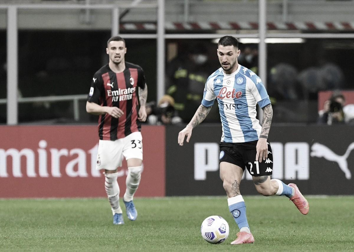 Napoli vence Milan fora de casa e se aproxima do G-4 da Serie A