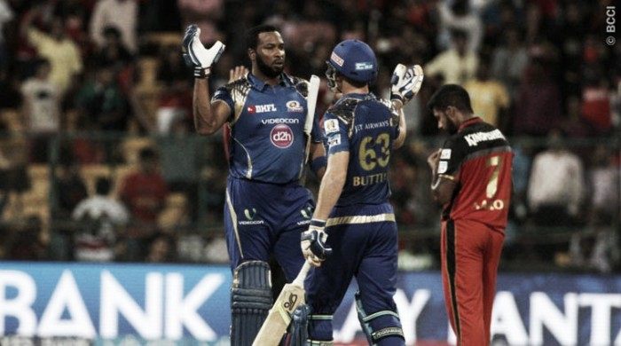 IPL: Mumbai Indians cruise to victory against Royal Challengers Bangalore