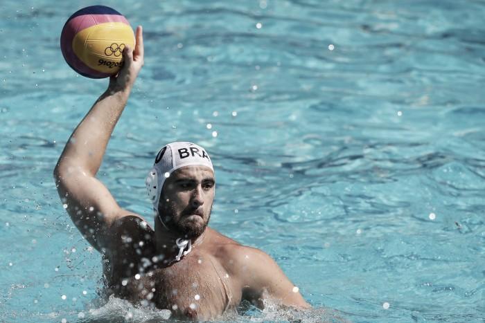 Na estreia do Polo Aquático masculino,Brasil consegue vitória apertada diante da Austrália