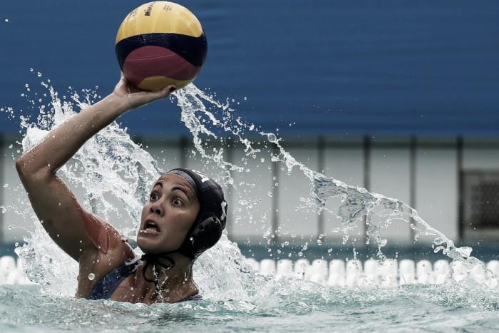 Brasil perde a terceira no Polo Aquático feminino e enfrentará melhor equipe do Grupo B nas quartas