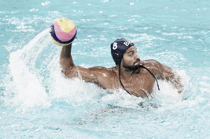 Classificado, Brasil perde para Grécia no Polo Aquático Masculino