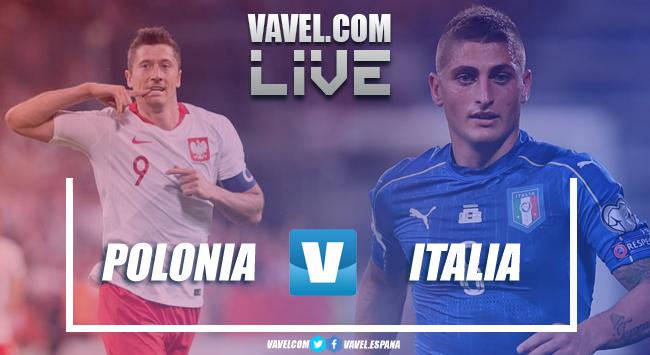 Polonia - Italia in diretta, live Nations League 2018 (0-1): Biraghi regala la vittoria agli azzurri