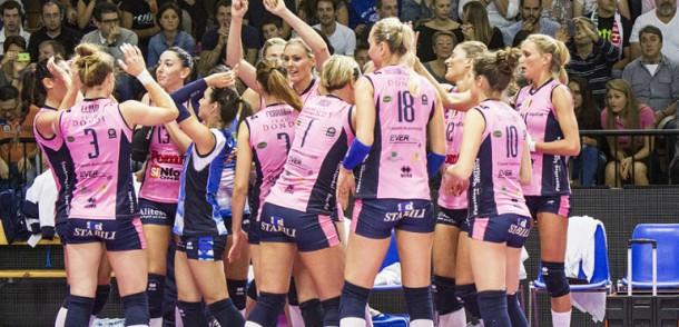 Volley femminile - Piacenza, Casalmaggiore e Novara in campo stasera per la Champions League