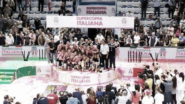 La Pomì Casalmaggiore riprende da dove aveva lasciato: sua la Supercoppa italiana