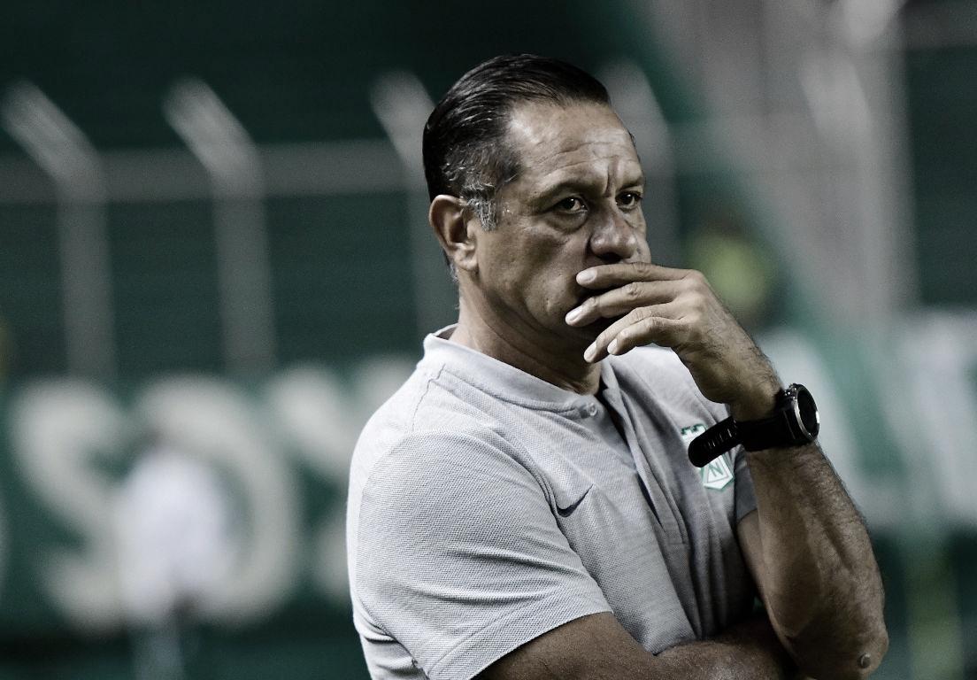 """Pompilio Páez: """"Vinimos a competir y a buscar el resultado"""""""