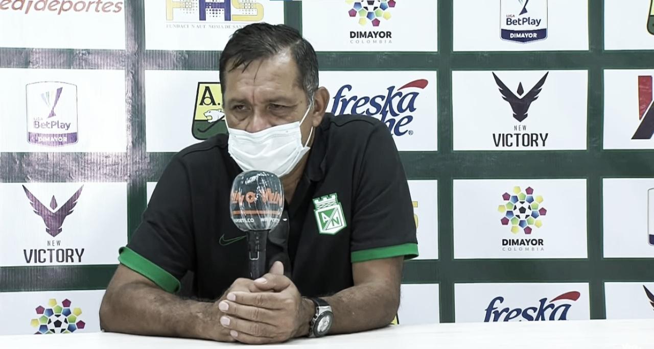 """Pompilio Páez: """"Atlético Nacional tuvo el balón, las opciones y controló el partido"""""""
