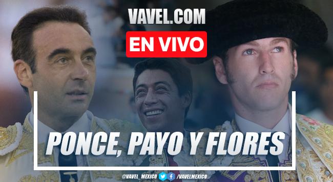 Corrida toros EN VIVO: Enrique Ponce, El Payo, Sergio Flores: transmisión online en Nuevo Progreso