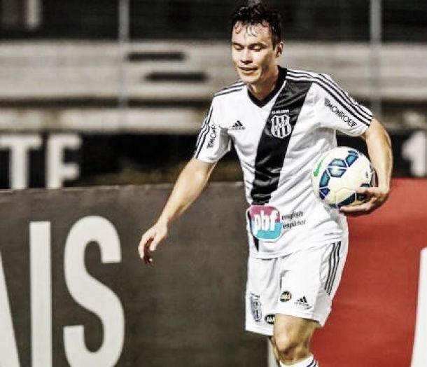 """Melhor em campo, Cajá festeja vitória ante São Paulo e exalta Ponte Preta: """"O time está corajoso"""""""
