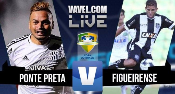 Resultado Ponte Preta 5x0 Figueirense na Copa do Brasil 2016
