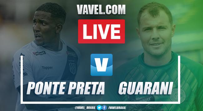 Resultado Ponte Preta 1 x 0 Guarani na Série B do Campeonato Brasileiro 2019