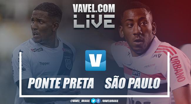 Resultado e gol Ponte Preta e São Paulo pelo Paulistão 2019