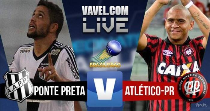 Resultado Ponte Preta x Atlético PR no Campeonato Brasileiro 2016 (3-2)
