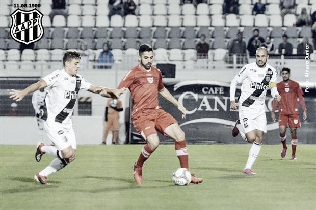 Ainda com chances de acesso, CRB visa terceira vitória seguida em casa contra Ponte Preta