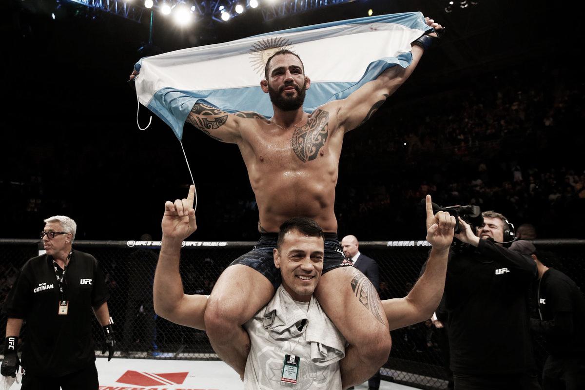 UFC Argentina fue de 3 ¾ de octágono