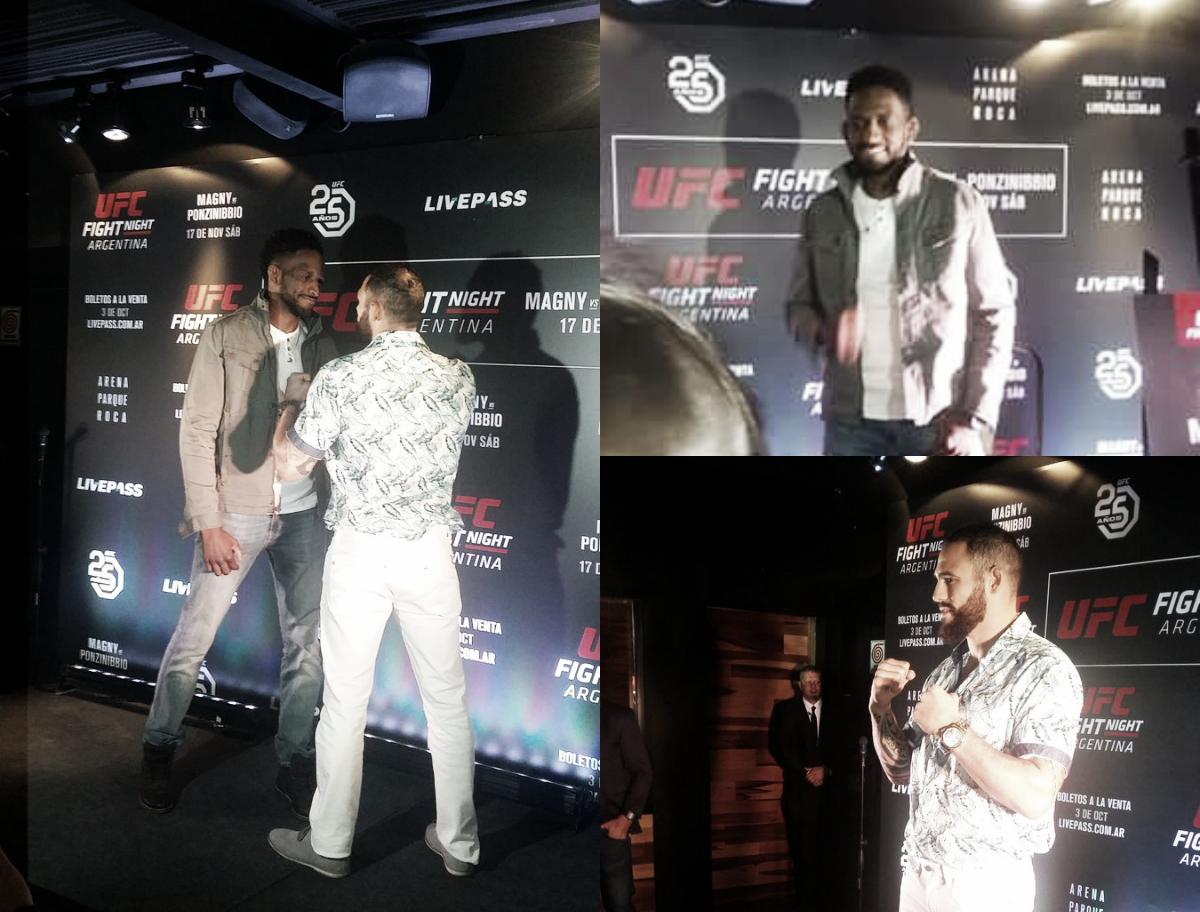 Presentación en público de UFC Argentina