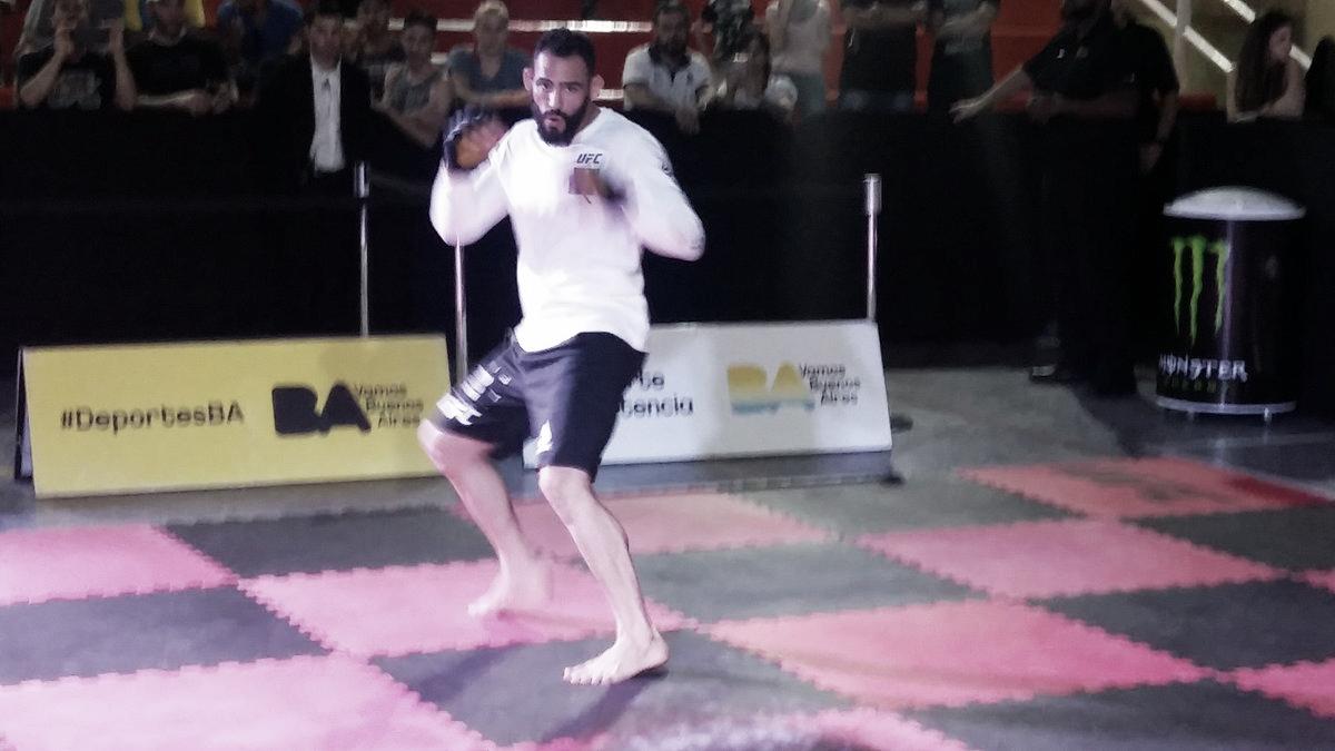 Jornada de entrenamientos abiertos de UFC Argentina