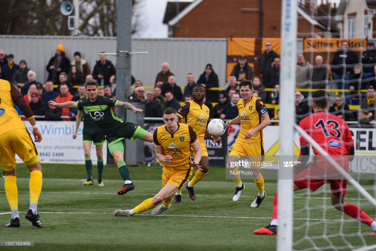 Sutton United 1-1 Hartlepool United Match Report: Points shared as Sutton rue missed chances