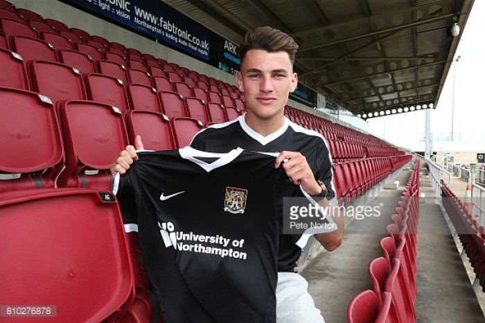 Cobblers snap up Manchester United defender Regan Poole in loan deal