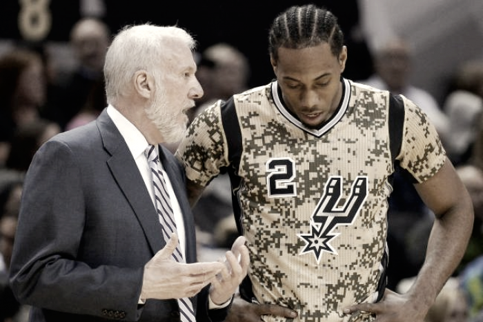 """NBA Playoffs: Popovich incorona Kawhi Leonard: """"E' il migliore di tutti"""""""