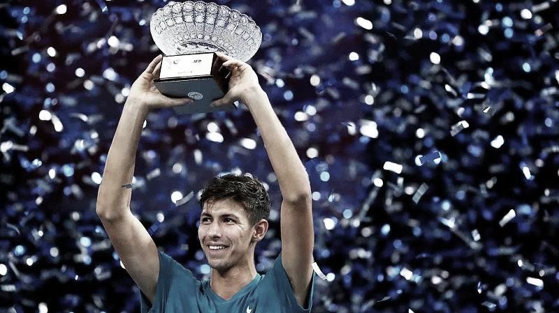 Popyrin logra su primer título ATP en Singapur