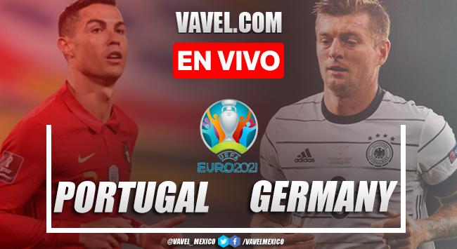 Goles y resumen delPortugal 2-4 Alemania en Euro 2020